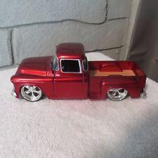 1955 chevy step side pickup,1:24 scale die cast,jada