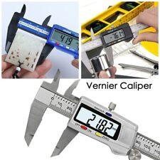 Vernier Caliper Digital Electronic Micrometer Stainless Steel 150mm Gauge 6 Lcd