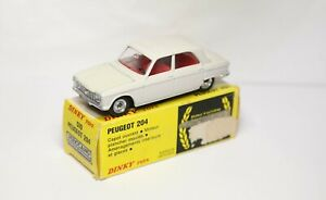 French Dinky 510 Peugeot 204 In its Original Box - Excellent Vintage Original 2