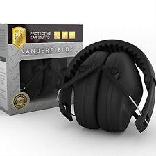 Noise Blocking Headphones/Earmuffs-Yard Work Studying Hearing Protection Black