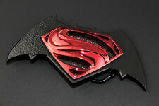 BATMAN VS SUPERMAN BLACK RETRO BELT BUCKLE DC COMICS SUICIDE SQUAD SUPERHERO