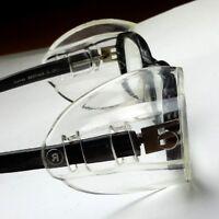 Seitenschutz für Brillen - universal  in transparent | NEU - 1 Paar