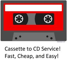 Fast Audio Cassette Transfer Service to CD!