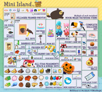 AC New Horizons: 7'Treasure Island 1Hour Unlimited Trips Animal Crossing