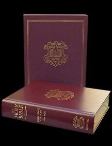 KJV Bible 1611 Edition: 400th Anniversary Edition (Oxford) Burgundy, Leather HC