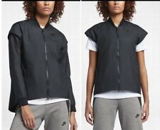 Nike Jacket 2017 Sportswear Tech Woven Zip-off Sleeves 2in1 Black XL