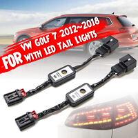 Pour VW Golf Mk 7 Semi dynamique LED indicateur clignotant Minibox adaptateurs R