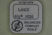 Balance complete LANCO 1036 bilanciere completo 721 NOS