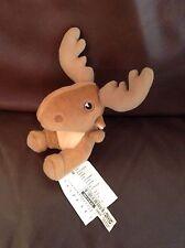 IKEA ALLEBY Rentier Elch Elk klein braun Stofftier Plüsch Teddy Schnuffeltuch