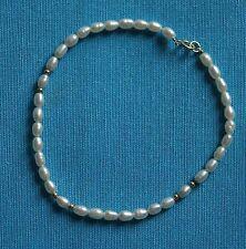 bracelet en petites perles de culture baroque perles en or et fermoir en or 750