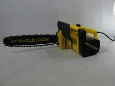 "2.5 HP MC CULLOCH 14"" inch bar electric McCulloch chain saw chainsaw 250-14"