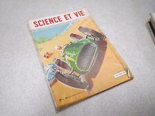 LA SCIENCE ET LA VIE N° 394 juillet 1950 voiture de sport ancienne  *