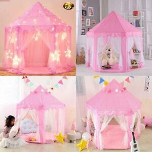 Carpa De Princesa Para Niñas Play Castle Fairy Carpas Para Niños Casa De Juego
