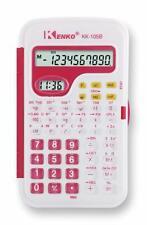 Kenko Black Scientific Calculator for Universities College with Clock
