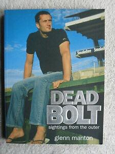 Glen Manton Autographed Book Autobiography Carlton Blues AFL Football player.