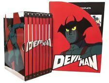 8 Dvd Box Cofanetto + Fascicoli DEVILMAN ~ DEVIL MAN di Go Nagai serie completa