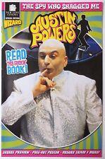 Austin Powers Magazine New Line Cinema Wizard Sequel Review Poster 1999 (C1348