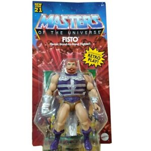 Masters of the Universe Origins Fisto Action Figure Wave 5 PREORDER  07/22