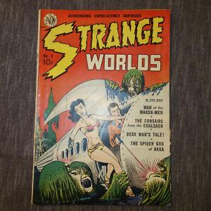 Strange Worlds #1 NOV 1950 AVON PUBLICATIONS (kf)