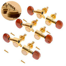 3L3R Gold Acoustic Guitar String Enclosed Tuning Pegs Tuners Keys Machine Heads