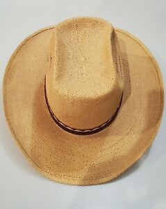 Resistol Stagecoach Self Conforming Men's Western Cowboy Straw Hat Size 7 5/8