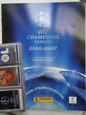 Panini UEFA Champions League NEW 2006 / 2007 Complete 384 Stickers set + Album