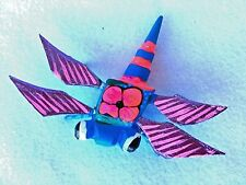 DRAGONFLY ALEBRIJE HAND PAINTED OAXACAN WOOD CARVING )  OAXACA, MEXICO