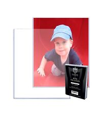 100 Max Pro 4x6 Toploaders Postcard Photo Holders Storage Ultra Protection