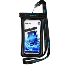 Mpow IPX8 Waterproof Bag Case Universal 6.5 inch Mobile Phone Bag Swim Case Take