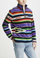 $298 Polo Ralph Lauren XL Purple Fleece Southwestern Indian RRL Aztec XXL Serape