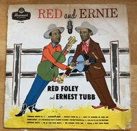 """USED! Red Foley & Ernest Tubb: """"Red & Ernie"""" LP Vinyl Record-G"""