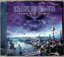 IRON MAIDEN BRAVE NEW WORLD The ALBUM a CD of CLASSIC Brit BRITISH HEAVY METAL!