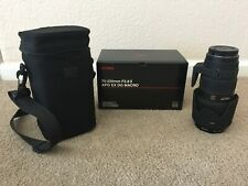 Sigma AF 70-200mm f 1:2.8 II APO DG EX Macro HSM  lens with case for Canon