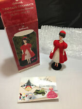 Hallmark 1998 Silken Flame Barbie OB Keepsake Ornament #5 Collector's Series