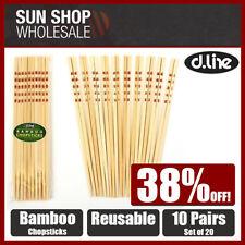 Dishwasher Safe Bamboo Chopsticks