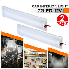 2x 12V LED Interior Lights Dome Roof Ceiling Reading Trunk For RV Camper Trailer