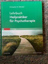 Lehrbuch - Heilpraktiker für Psychotherapie von Ofenstein - 3. Auflage von 2016