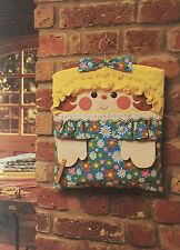 SEWING PATTERN Jean Greenhowe Handy Mandy Hanging Storage Bag Pegbag Accessories