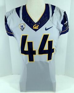 2015 California Golden Bears #44 Game Issued Gray Football Jersey 42 712