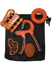 Hand Grip Strengthener Forearm Grip workout kit -5 pcs- Adjustable hand grip