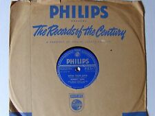 ROBERT EARL : He / With your love - 78 rpm 1954 SHELLAC England PHILIPS P.B. 517