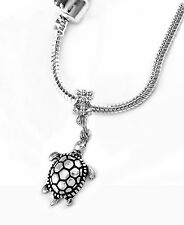Turtle necklace turtle European necklace tortoise necklace best jewelry gift