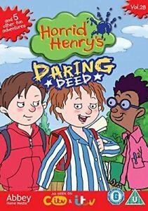 Horrid Henry's Daring Deed - Vol 28 [DVD][Region 2]