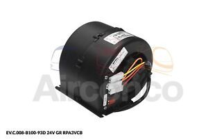 Spal Centrifugal Blower Fan, 008-B100-93D, 3 Speed, 24v - Genuine Product!