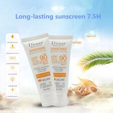 1Pc SPF90+ Face Sunblock Cream Sunscreen Moisturizing Skin Facial Sun Protection