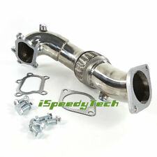 Turbo Down Pipe FOR 07-11 Mazda Mazdaspeed 3 2.3L MPS Stainless Exhaust Downpipe