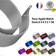 Bracelet Milanais Acier pour Apple Watch 38mm 40mm 42mm 44mm Serie 6 5 4 3 2 SE