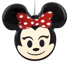 Disney Parks Minnie Mouse Emoji Ornament New With Tags