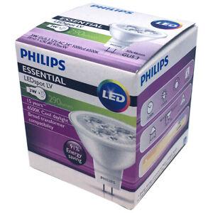 Philips 3W MR16 Essential LED 6500K Lamp Spotlight 12V Bulb GU5.3 = 35W Halogen