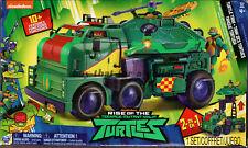 NEW*TMNT-Rise of the Teenage Mutant Ninja Turtles-Turtle Tank-Vehicle-Mobile Lab